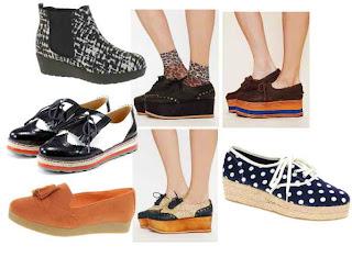 Trend model sepatu terbaru Juli 2012 Flatforms Trend Model Sepatu Cewek Yang Lagi Musim Di 2013