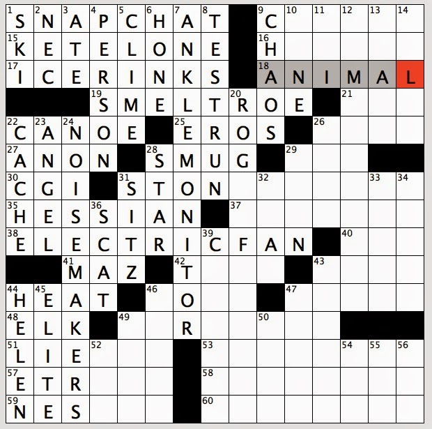 Kitchen Nook For Example Crossword: Rex Parker Does The NYT Crossword Puzzle: Instagram