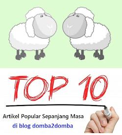 10 Artikel Paling Popular Di Blog Dari 9 April 2011 ke 14 Mei 2015