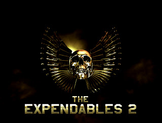 The Expendables 2 Skull Logo HD Wallpaper