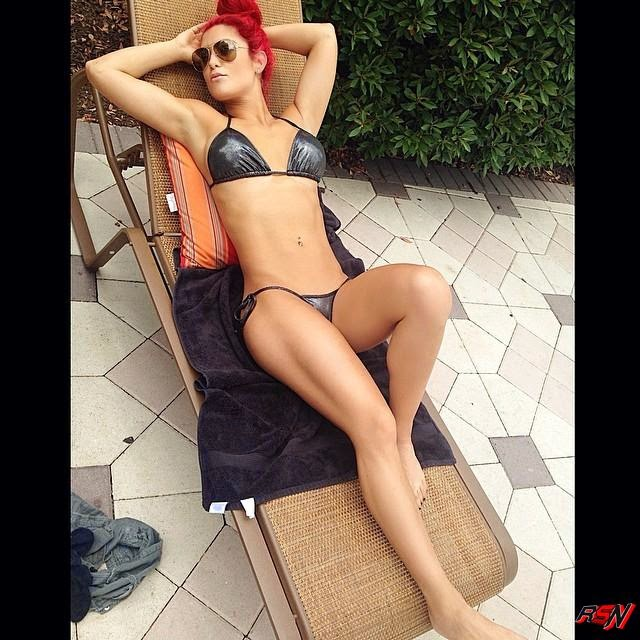 Photo Of WWE Diva Eva Marie Looking Damn Hot In Bikini.