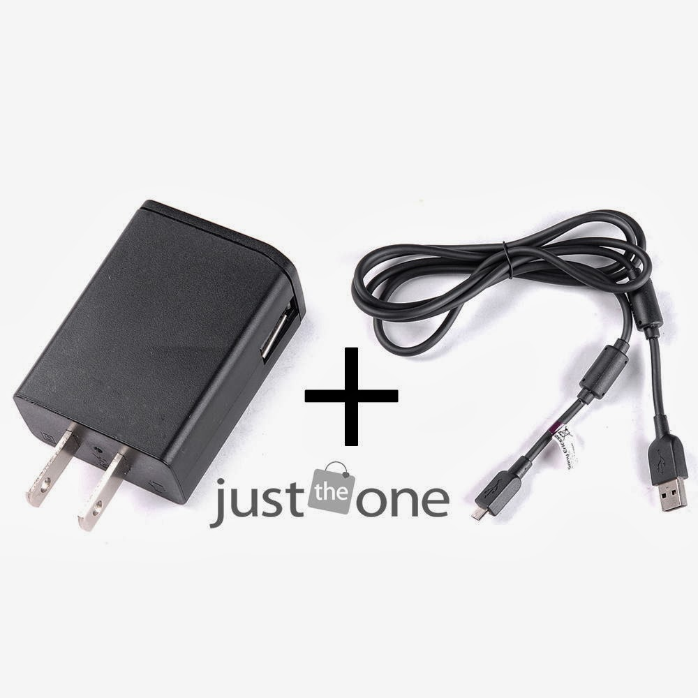 AC Wall Charger Adapter EP800 + EC700 micro USB Cable f Sony Ericsson Xperia NEW