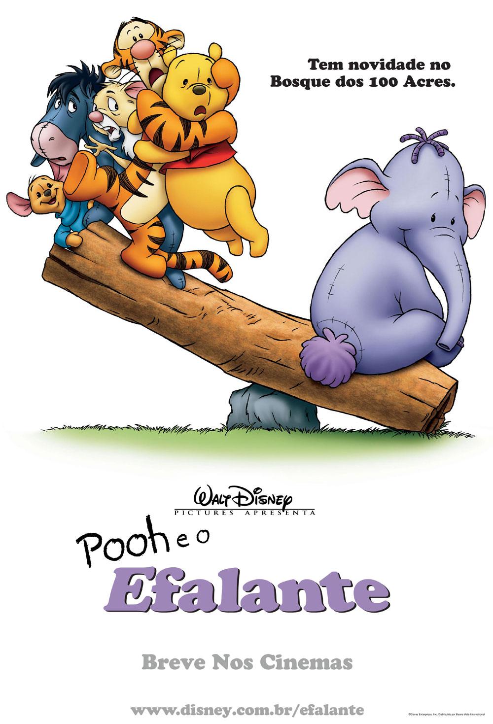 Assistir Pooh e o Efalante - Dublado