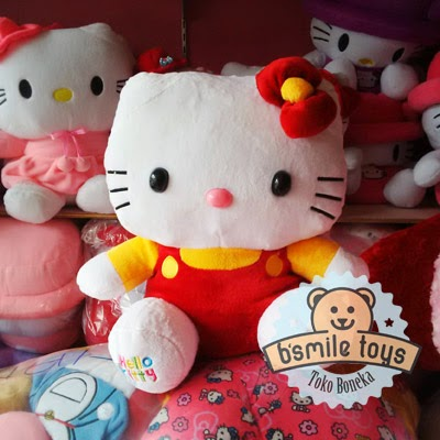 jual boneka hello kitty lucu