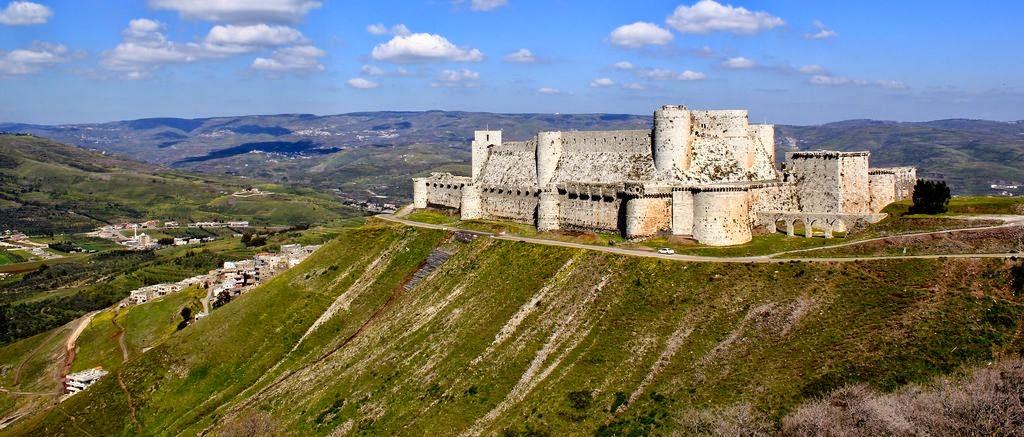 El Castillo Crac de los Caballeros, Siria