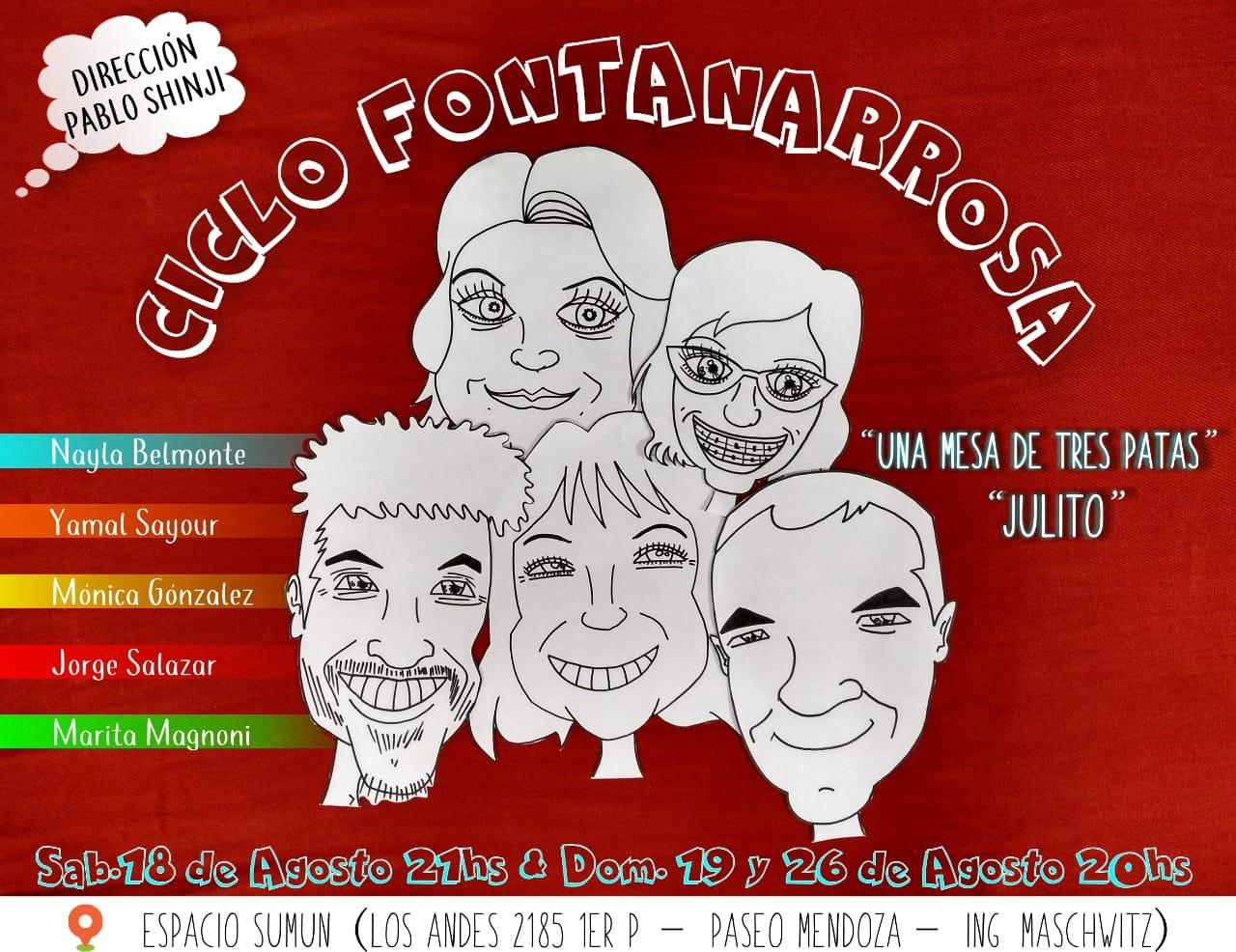 CICLO FONTANARROSA. Finalizó la 1er temporada 2018
