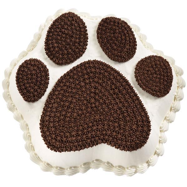 How To Make A Dog Paw Print Cake
