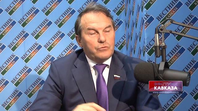 Russian Senator Igor Morozov