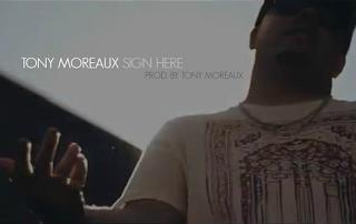"Tony Moreaux (@TonyMoreaux) - "" Sign Here "" Cover"