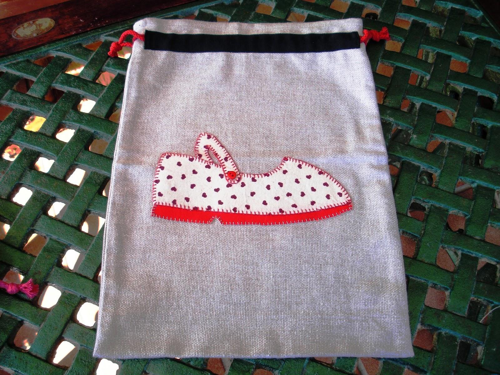 Ana ane puntadas con gusto no bolsas para zapatos - Zapateros de tela ...