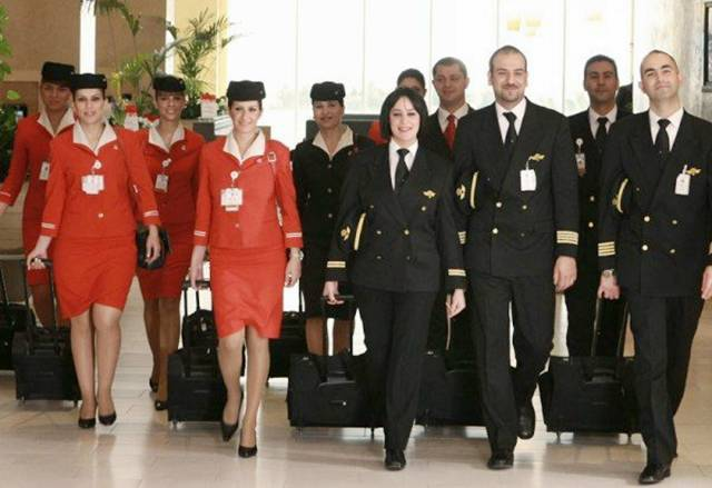 13Jordan252CRoyalJordanianAirlinesAirHostess - Air Hostess From Different Countries