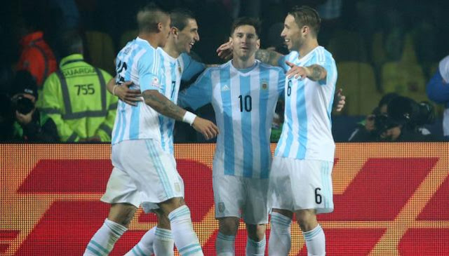argentina 6 paraguay 1 - copa america chile 2015 - semifinal argentina paraguay