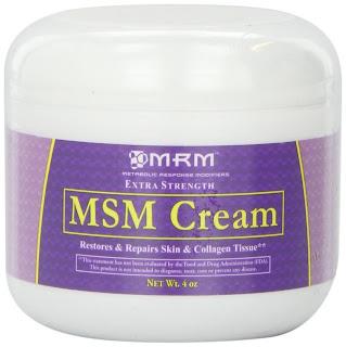 Msm acne scars
