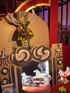 Cirque Papier et gravures de Brigitte Rio