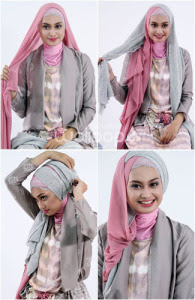 foto memakai hijab