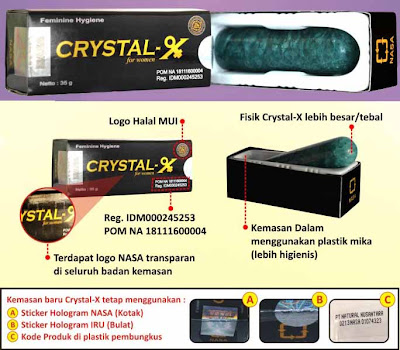 Crystal X Asli dari masa ke masa generasi ketiga tahap 2