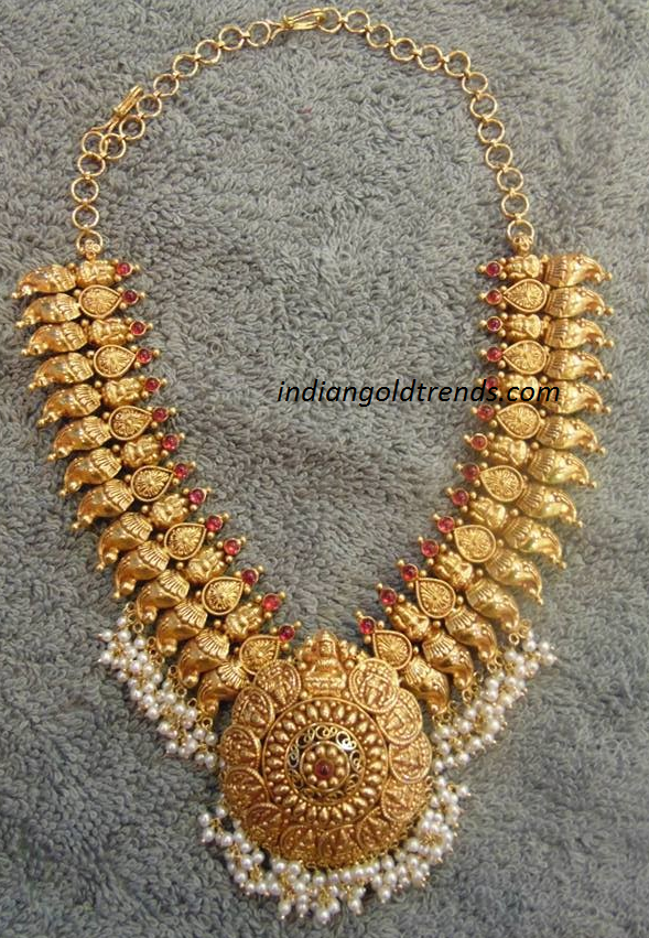 Traditional Antique Gold Necklace Antique Traditional Gold