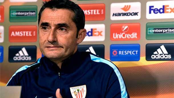 """Ernesto Valverde va con todo ante el FC Barcelona: """"Nos la tenemos que jugar"""""""