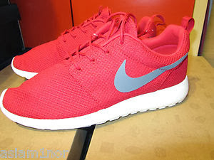 NIKE ROSHE RUN SPORT RED/COOL GREY/SAIL