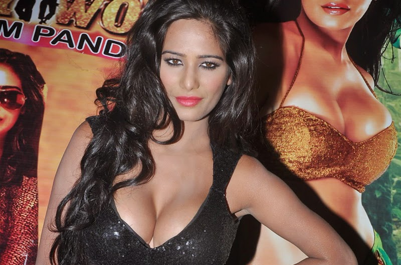 Poonam Pandey At Malini and co Movie Press Meet Photos
