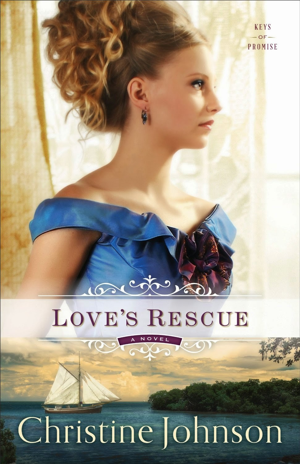 http://www.amazon.com/Loves-Rescue-Keys-Promise-Book-ebook/dp/B00QMSCM8W/ref=sr_1_1?s=books&ie=UTF8&qid=1434556276&sr=1-1&keywords=love%27s+rescue+christine+johnson