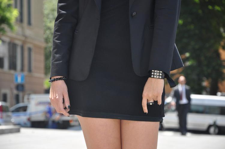 bracciale borchie, studd, borchie, accessori, moda, design, bracciale