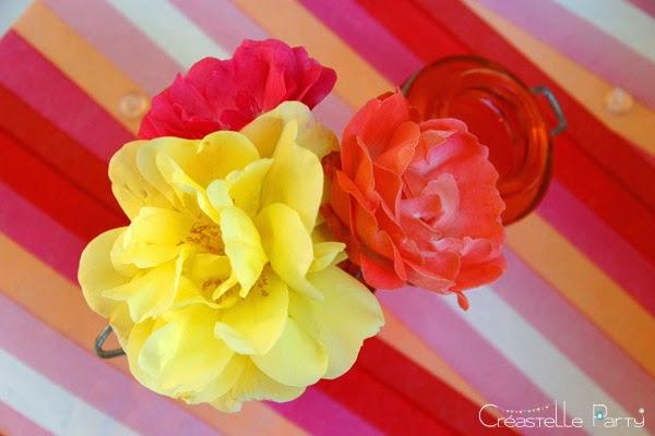 bouquet de fleur brunch soleil