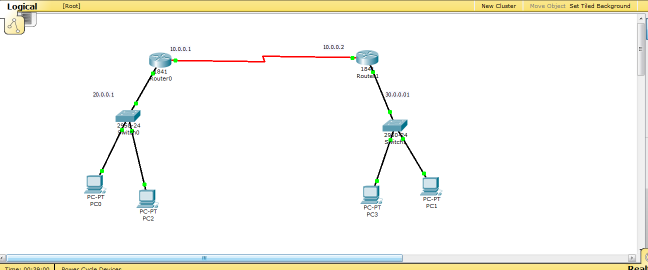 How to make Rip protocol in packet tracer