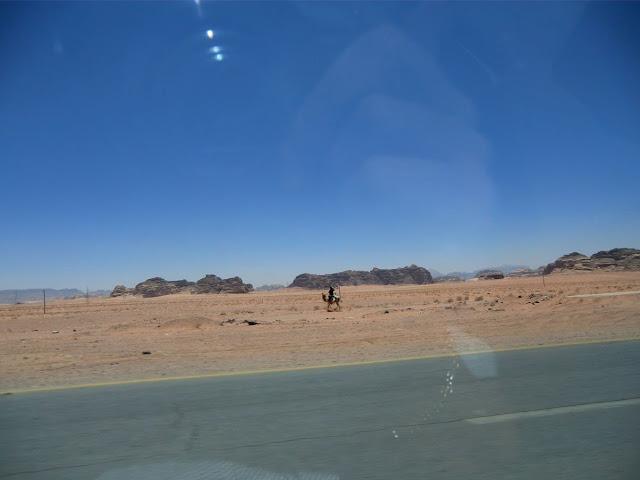 Пустыня Акаба в Иордании