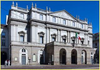 Scala de Milán Fachada