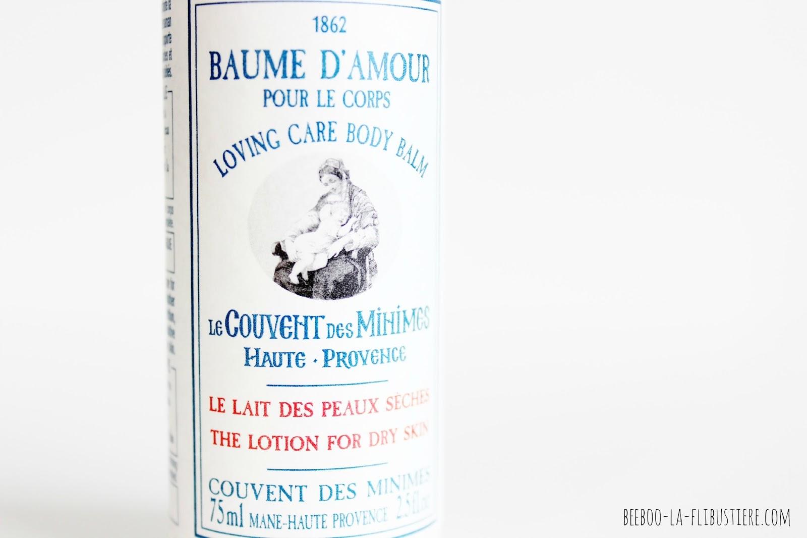 Le Couvent des Minimes le lait des peaux sèches