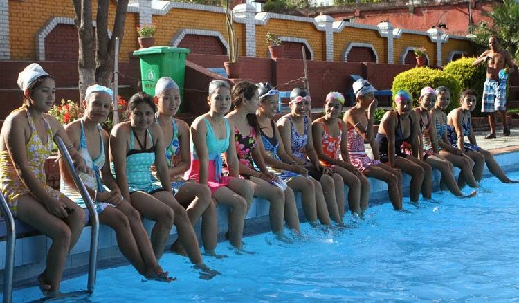 miss ecollege 2014 contestants photo