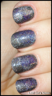 holo patchwork mani