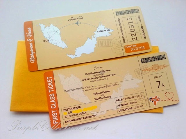 Engagement Boarding Pass Invitation Card (Orange Gold Theme Colour), travel, passport, indian, chinese, modern, malay, kad kad kahwin, personalized, personalised, malaysia, kuala lumpur, selangor, wedding fair, red card, sandakan, ipoh, perak, penang, taiping, lim garden, melaka, seremban, johor bahru, muar, singapore, terengganu, kedah, perlis, kelantan, kuantan, bentong, pahang, mentakab, temerloh, online order, purchase, buy, sell, portfolio, modern, minimalist, simple, cute, cartoon, map, first class ticket, Malaysia Airlines, air asia, gold envelope, pearl, art card 260g printing, cetakan, murah, peonies, floral, flower, border, barcode, seat no, wedding card, china, brown jute string, twine, rhinestones, decor, decoration, consultation, planning