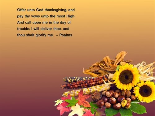 Meaning Christian Thanksgiving Quotes