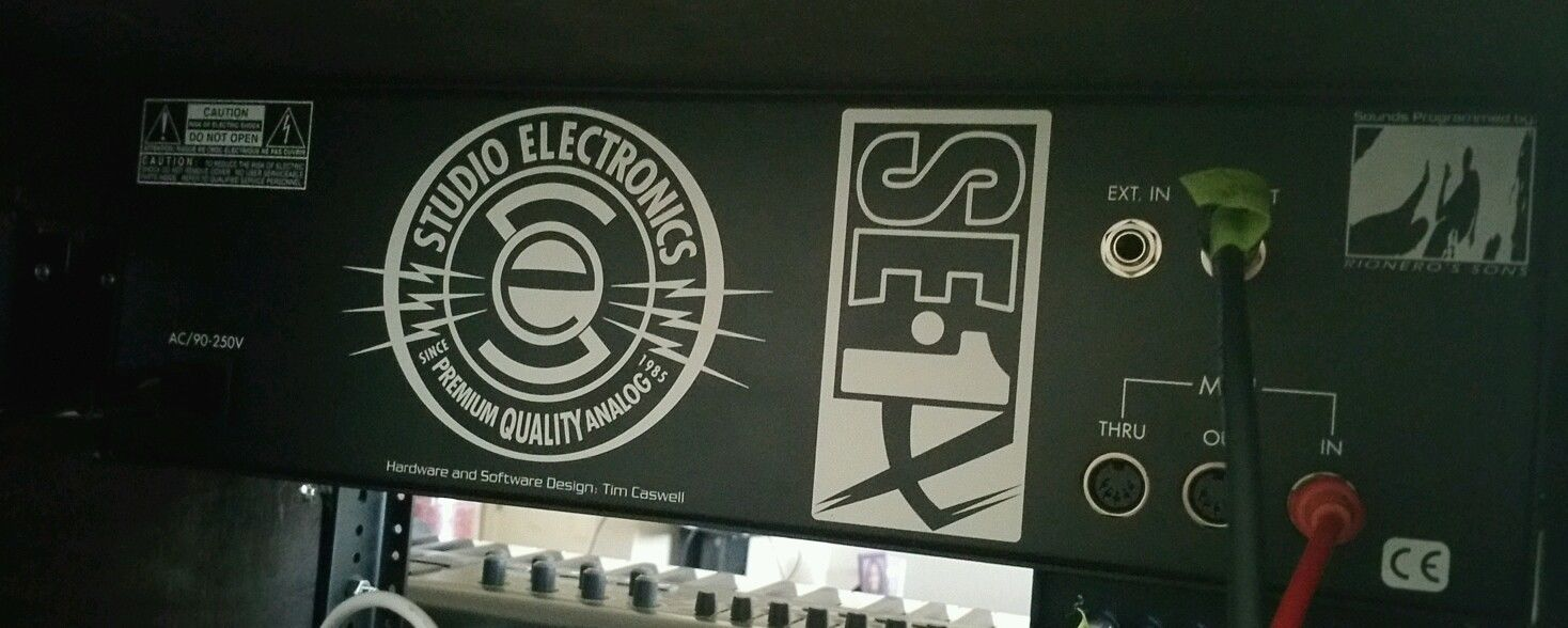 Studio electronics se1 patches for clothes