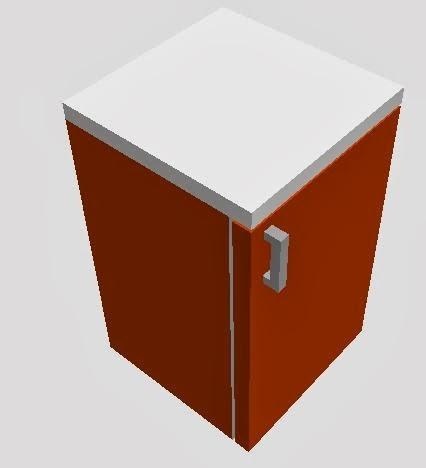 lemari kayu untuk dapur minimalis