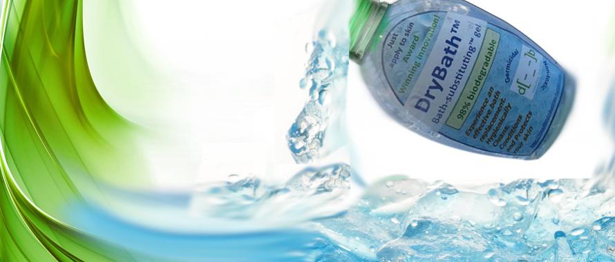 Dry Bath: cómo ducharse sin usar agua