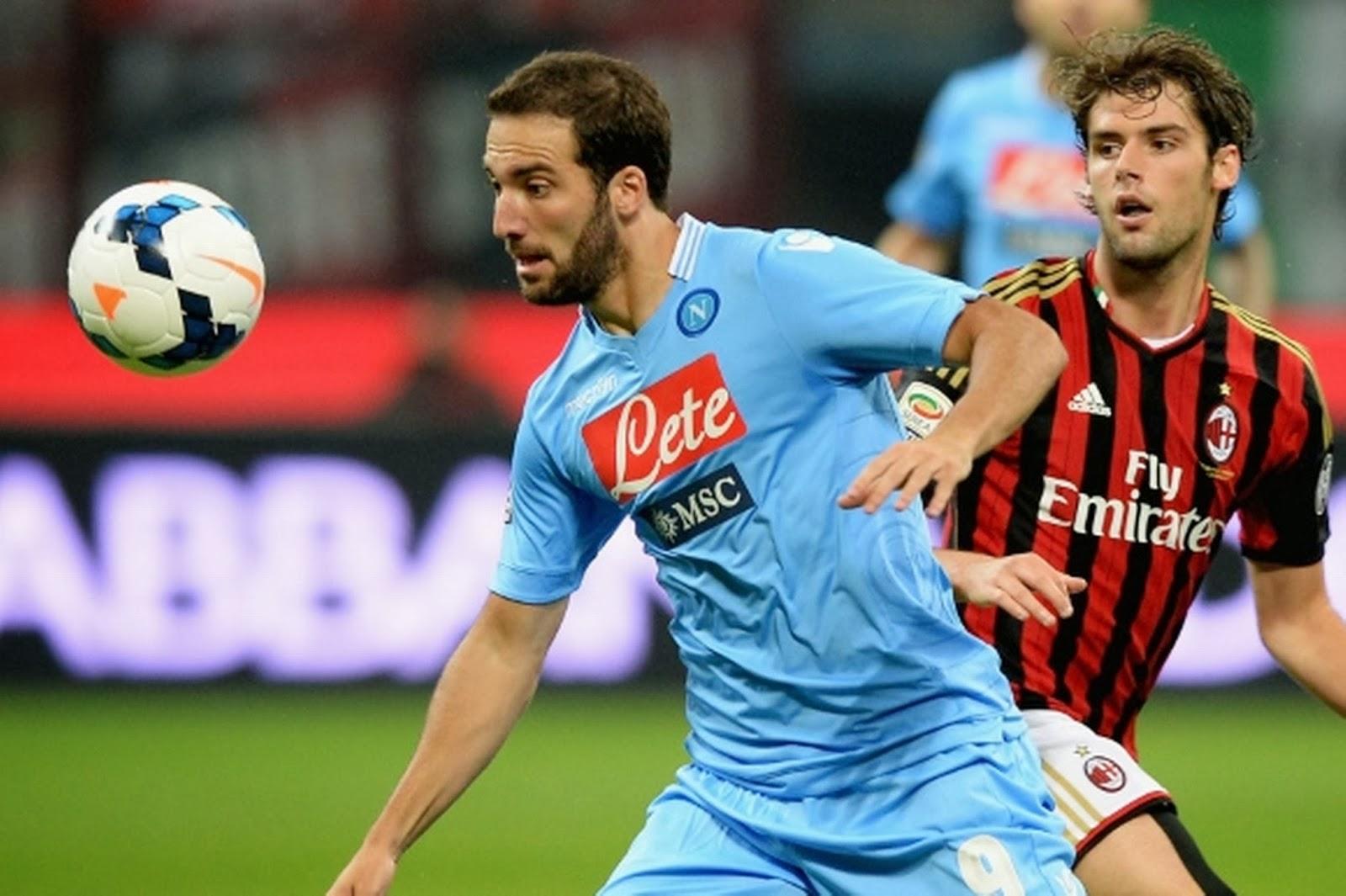 Review Giornata 23 Lega Calcio, Minggu 9/2, Napoli Vs AC Milan