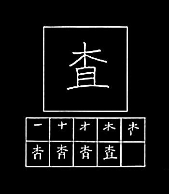 kanji memeriksa