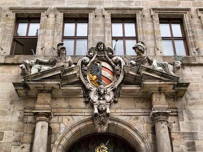 Rathaus, ayuntamiento antiguo de Núremberg