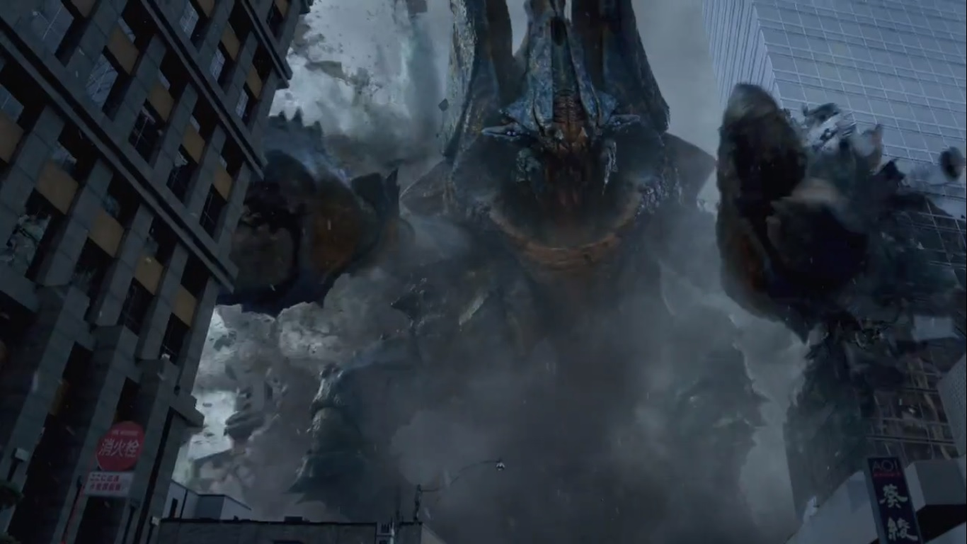 Kaiju Crush In Pacific Rim Out Of This World HD Wallpaper  - kaiju crush in pacific rim wallpapers