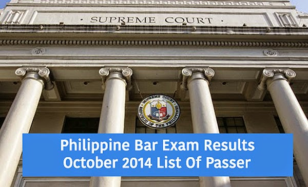 bar exam results october 2014