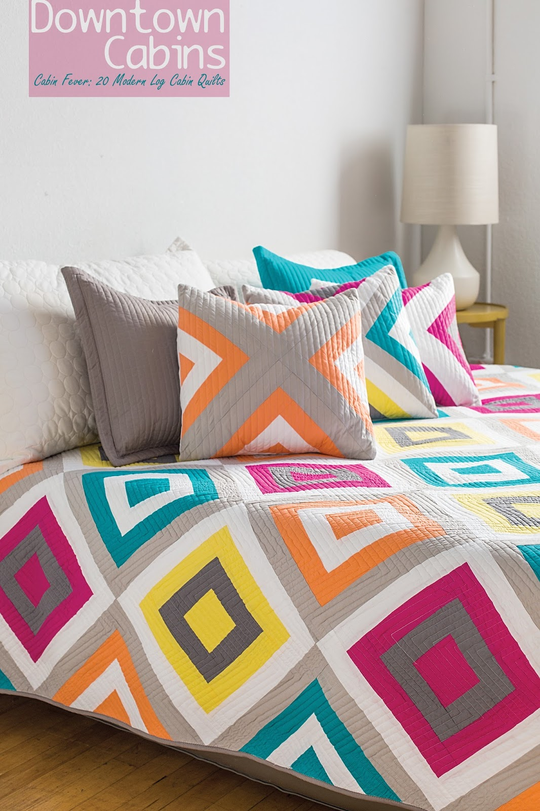Log Cabin Quilts ~ Piece n quilt downtown cabins cabin fever modern