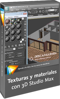 Video2brain texturas y materiales con 3d studio max 2011 for 3d studio max torrent