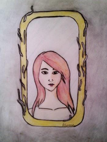 dibujo aloma esencia esoterica sueño espejo onirico