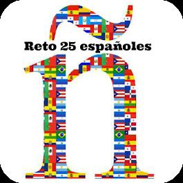 Reto 25 españoles 2018.
