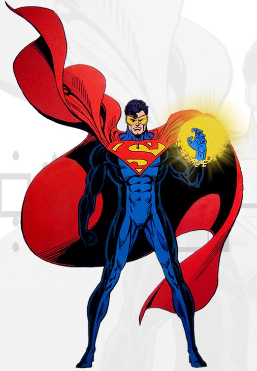 Eradicator Superman Comics Cyborg Superman Eradicator