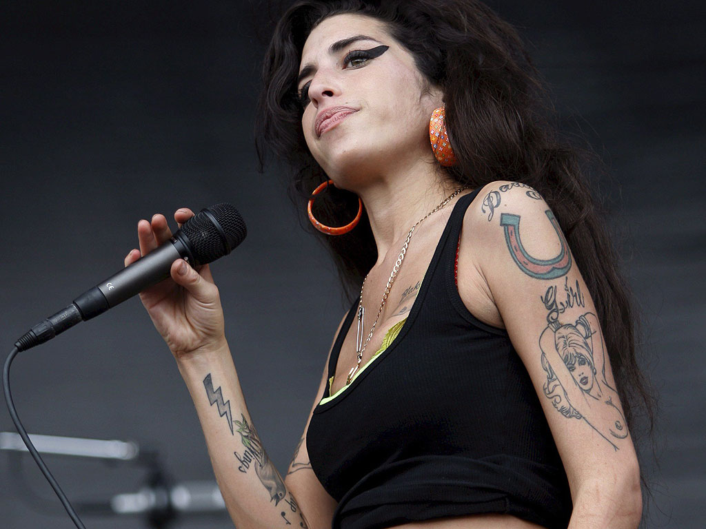 Tattoo and Everything: Amy Winehouse Tattoos Amy Winehouse Rehab