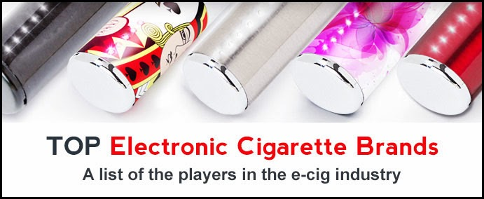 Top Electronic Cigarette Brands List